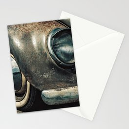 Classic Car Enjoying Retirement Stationery Cards