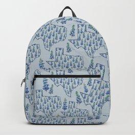 Texas Blue Bonnets Backpack