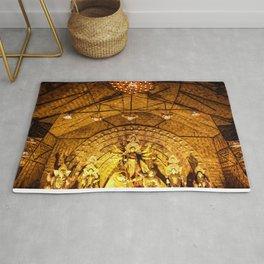 Durga pandal Rug