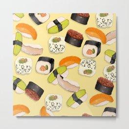 Sushi Party Metal Print