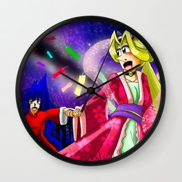 Starry Love Wall Clock
