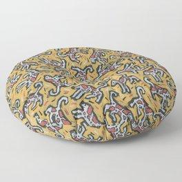 Spotty Dog by Nettwork2Design Nettie Heron-Middleton Floor Pillow