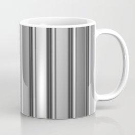 Aluminum silver stripe texture Coffee Mug