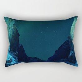 Northern Lights / Aurora Borealis Rectangular Pillow