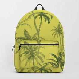 Palm Trees Desert Pattern Backpack