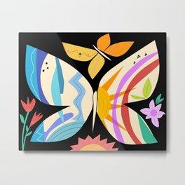 Sunshine Butterfly  Metal Print