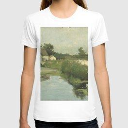 Summer Day By Johan Hendrik Weissenbruch | Reproduction T-shirt