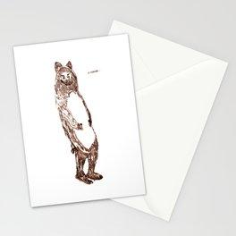 Ooo Bear Stationery Cards