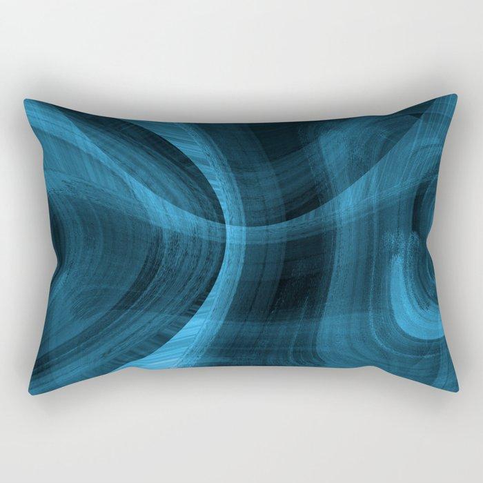 Bluish Black Hole Rectangular Pillow