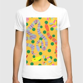 Polka Dot Snake Party T-shirt