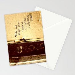Palabras en la calle  Stationery Cards