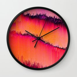 Abstract Geometric Art Colorful Design 46 Wall Clock