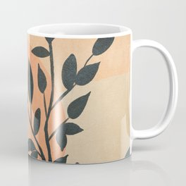 Orange Rising Sun Coffee Mug