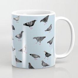 Pigeons Doing Pigeon Things Coffee Mug