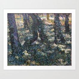 Vincent Van Gogh Undergrowth Art Print