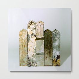 Residual City #4 Sculpture by Annalisa Ramondino Metal Print