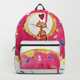 Donut Kitty Backpack