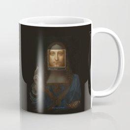 Salvator Mundi _tag Coffee Mug