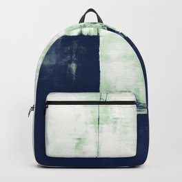Layers Nr172v1 White Geen Blue Backpack
