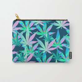 Holographic Marijuana Carry-All Pouch