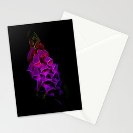 Fantastical Phosphorescent Foxglove Stationery Cards
