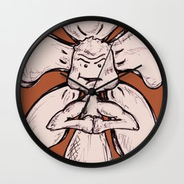 """""""Control Your Power"""" Flowerkid Wall Clock"""