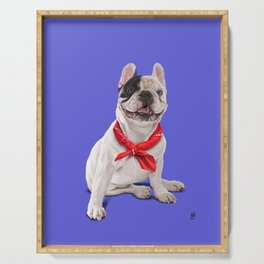 Frenchie (Colour) Serving Tray