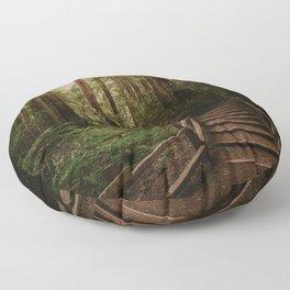Muir Woods | California Redwoods Forest Nature Travel Photography Floor Pillow