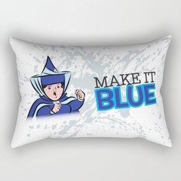 "Merryweather ""Make It Blue"" / Sleeping Beauty Rectangular Pillow"