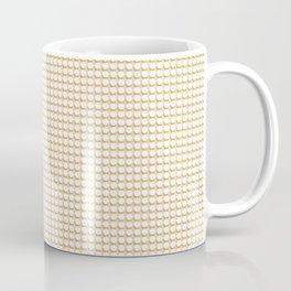 Making Marks Dots Pink/Mustard/White Coffee Mug