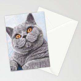 British Shorthair Cat Stationery Cards