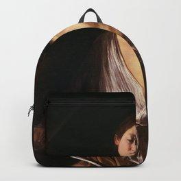 Michelangelo Merisi da Caravaggio - David with the Head of Goliath Backpack