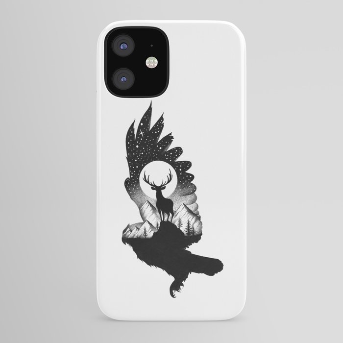 THE OWL AND THE DEER II iPhone Case