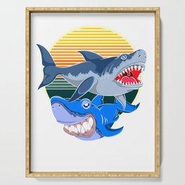 Shark Vintage Serving Tray