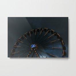 The wheel of life Metal Print