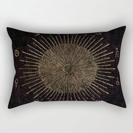 Astronomy Symbols Rectangular Pillow