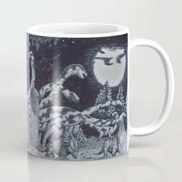 Dinosaur Moon Coffee Mug