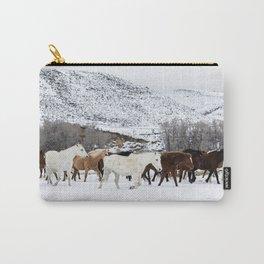 Carol Highsmith - Wild Horses Carry-All Pouch
