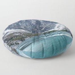 Alpine Lakes Wilderness, Colchuck Lake Floor Pillow