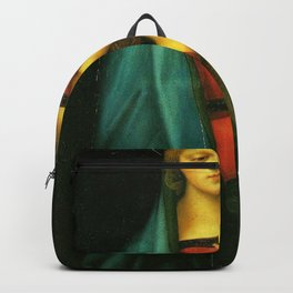 Raphael - Madonna del Granduca Backpack