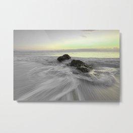 OCEAN WAVES XII Metal Print