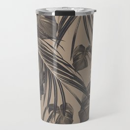 Tropical Jungle Leaves Dream #5 #tropical #decor #art #society6 Travel Mug