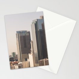DTLA - Los Angeles Skyline Stationery Cards