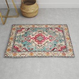 N132 - Heritage Oriental Traditional Vintage Moroccan Style Design Rug