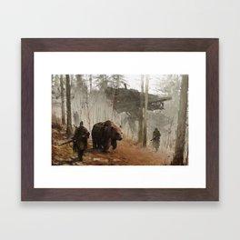 1920 - into the wild Framed Art Print