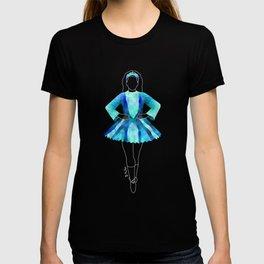 Irish Dancer Blue T-shirt