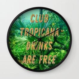 Club Tropicana #1 – A Hell Songbook Edition Wall Clock