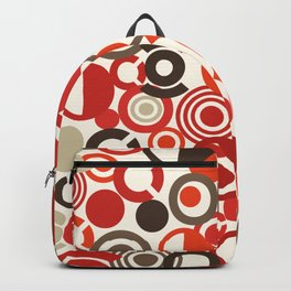 Seventies style circles Backpack