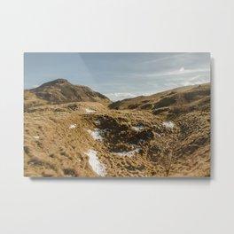 Arthur's Seat | Holyrood Park | Hills of Edinburgh Metal Print