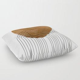 Abstract Flow Floor Pillow